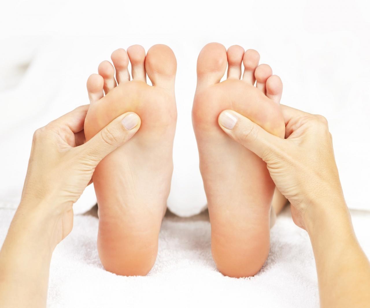 reflexologie plantaire - massage pied